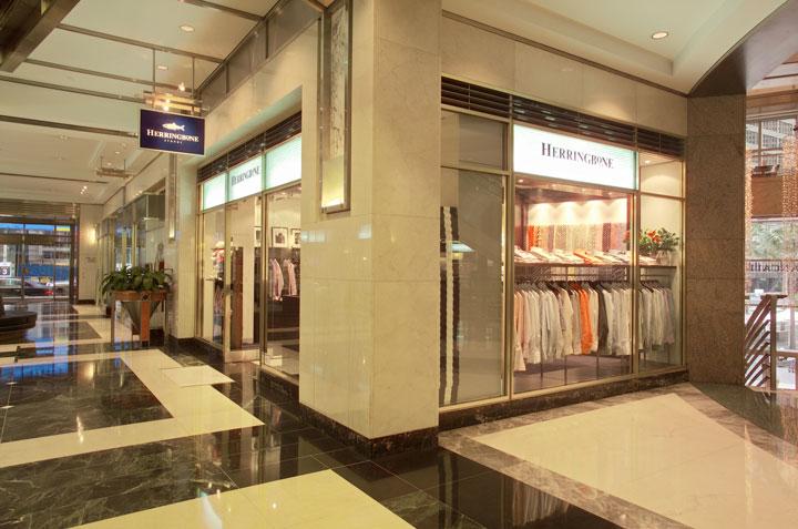 Herringbone fitout retail fitouts case studies idpm - David jones head office australia ...