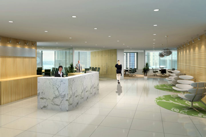 3D Renders Office Fitout-1