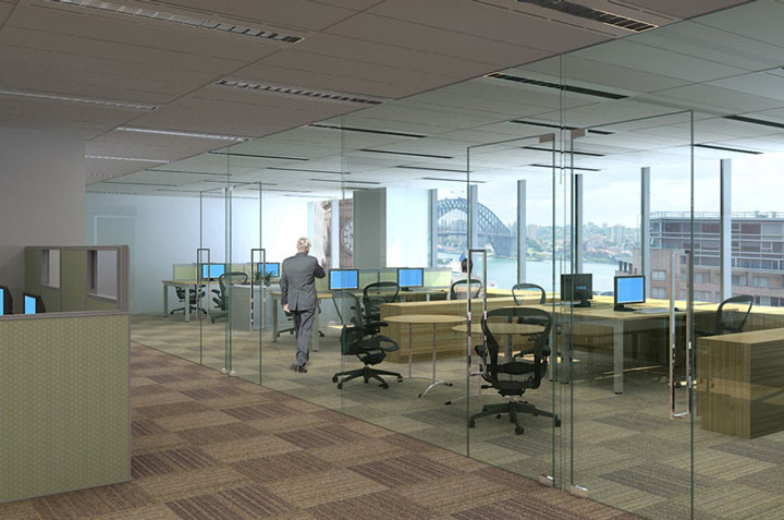 3D Renders Office Fitout-2