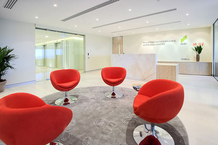 Sumitomo Mitsui Banking Corporation Office Fitout-1