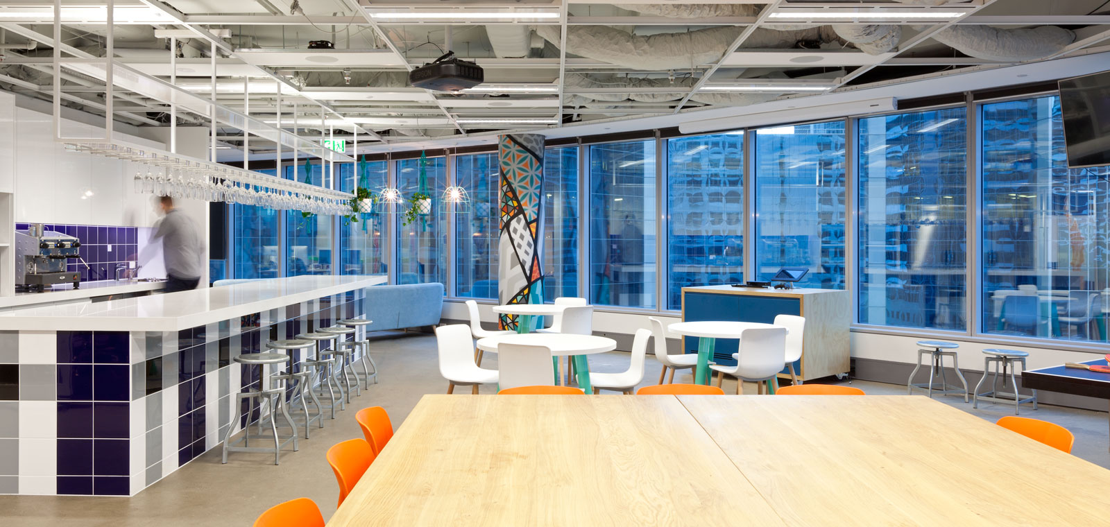 Custom office fitouts sydney commercial building company for Office design services